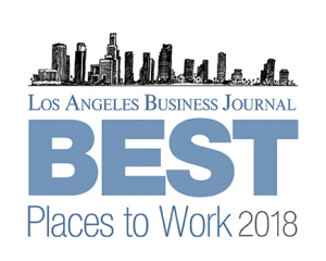Best Places to Work LA Business Journal