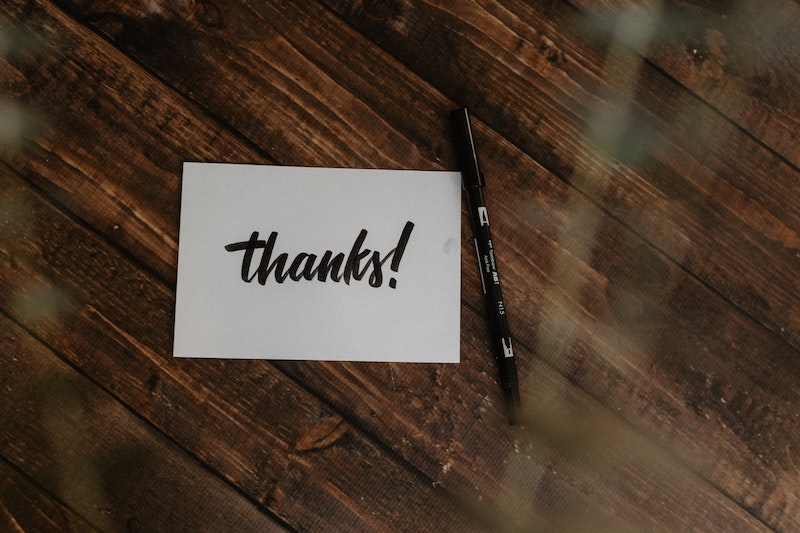 jeff russell thank you note